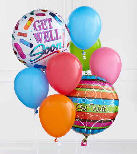 Get Well Soon Balloon Bouquet